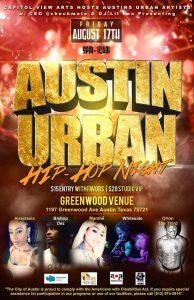 Austin Urban Artists Hip-Hop Night