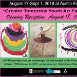 Greater Tomorrow Youth Art Exhibit