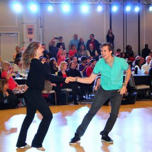 Heart of Texas West Coast Swing Dance Featuring Brandon & Kristen Parker Special Performance