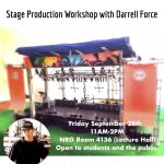 Stage Production Workshop with Darrell Force