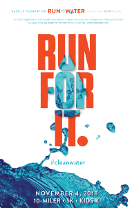 Run for the Water, 10-Miler, 5K and Kids K