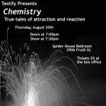 Testify presents Chemistry