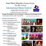 Texas Music Museum's 8th International Music Festival