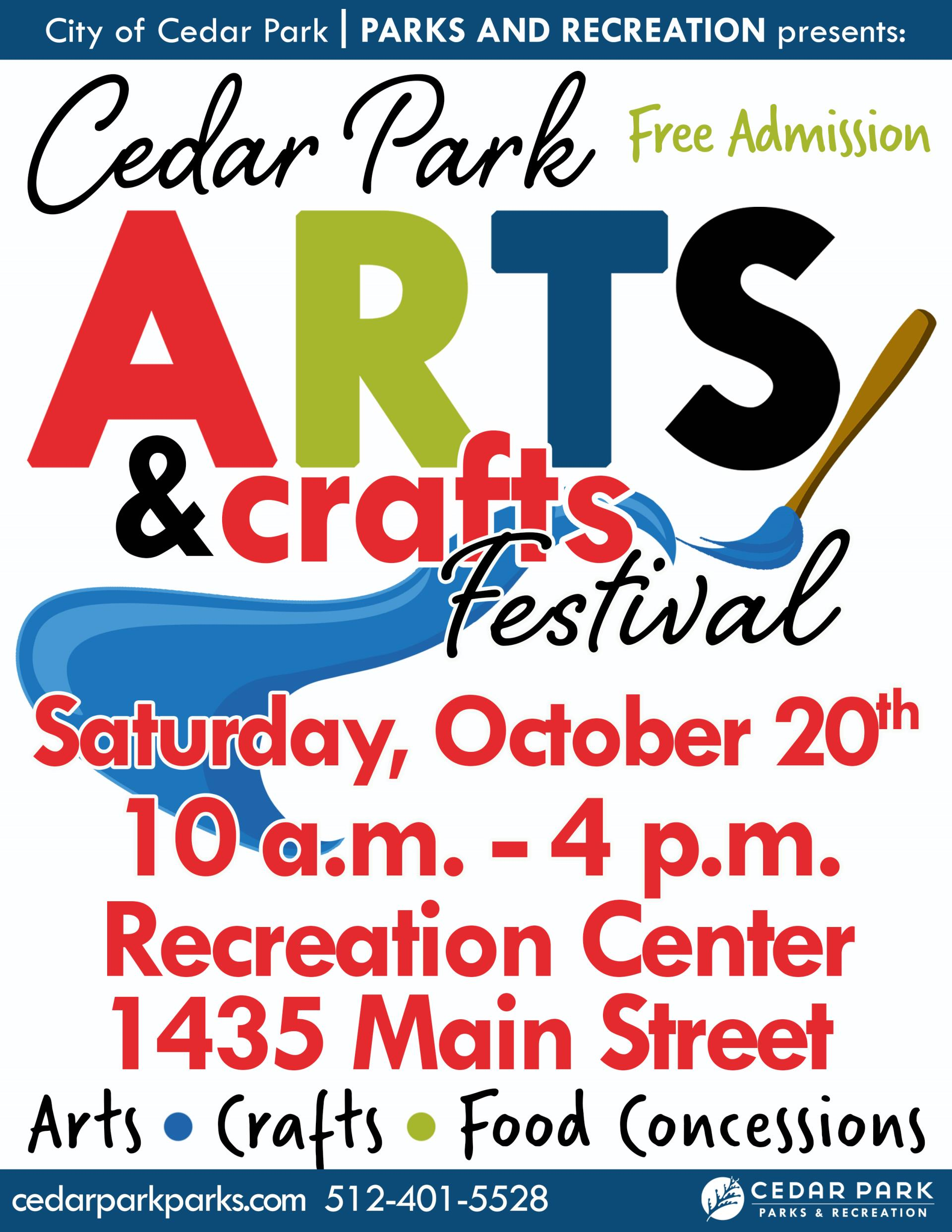 Arts Crafts Festival Presented By The City Of Cedar Park