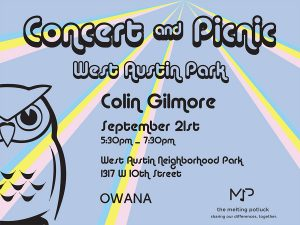 Concert & Picnic in West Austin Park
