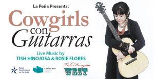 Cowgirls Con Guitarras, Tish Hinojosa & Rosie Flores Concert