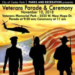 Veterans Parade & Ceremony