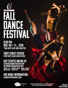 Chaddick Dance Theater 2018 Fall Dance Festival