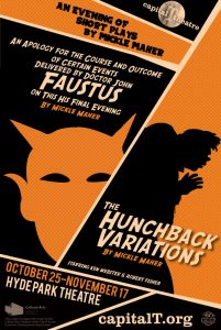 The Hunchback Variations and Faustus by Mickle Mah...