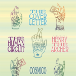 The Cover Letter Single Release w/ The Human Circuit, Henry the Archer, Cosmico