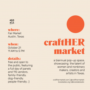 craftHER Market Fall '18