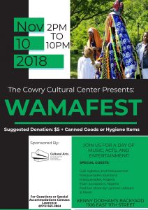 WORLD AFRICAN MUSIC AND ARTS FESTIVAL (WAMAFEST)