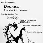 Testify present Demons