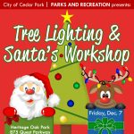 Tree Lighting & Santa's Workshop