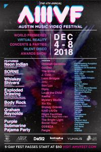 The 4th annual - Austin Music Video Festival