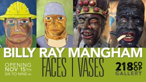 Billy Ray Mangham: Faces/Vases