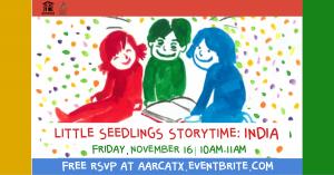 Little Seedlings Storytime: India