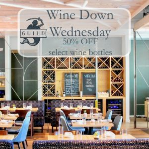 Wine Down Wednesday at Guild