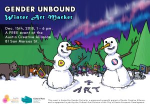Gender Unbound Winter Art Market