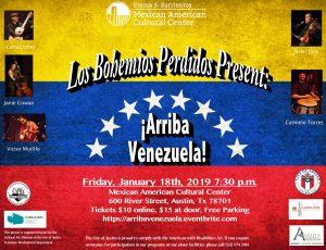 ¡Arriba Venezuela! by Los Bohemios Perdidos