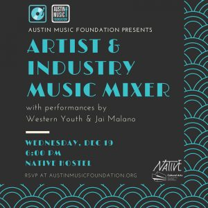 End-of-year Artist & Industry Music Mixer