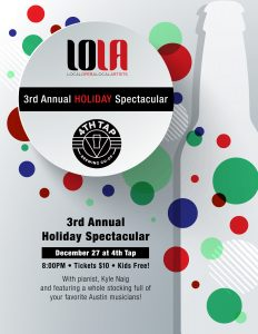 LOLA at 4th Tap Holiday Spectacular!