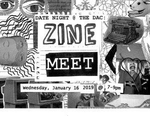 Date Night @ The DAC: Zine Meet