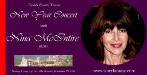Nina McIntire, New Year Concert
