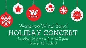 Waterloo Wind Band Holiday Concert
