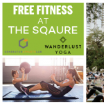 Free Yoga in the Square