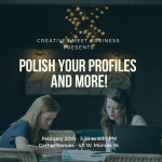 Polish Your Profiles and More!