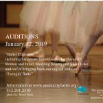 Auditions: Ballet Classique and Swingin' Suite