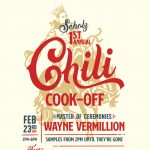 1st Annual Chili Cookoff at Scholz Garten