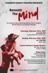 "Chaddick Dance Theater- ""Beneath the Mind"""