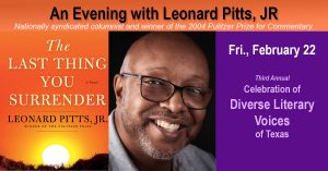 Diverse Literary Voices of Texas Presents: An Evening with Leonard Pitts, Jr.