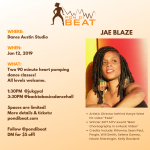 BACK TO BASICS DANCEHALL W/ CELEBRITY CHOREOGRAPHER JAE BLAZE