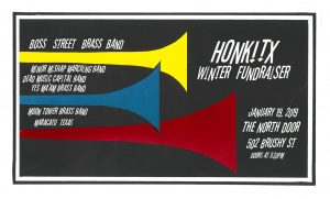 HONK!TX Winter Fundraiser