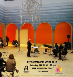Keep Composers Weird 2019 at the Blanton