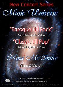 Nina McIntire - Music Universe - New Concert Series