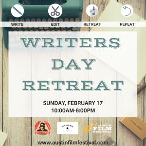 Writers' Day Retreat