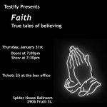 Testify presents Faith
