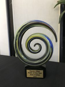 Haven Street-Allen Artist of the Year Award Nominations