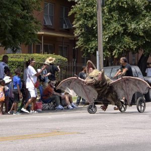 Bike Zoo and the Central Texas Juneteenth Parade and Celebration