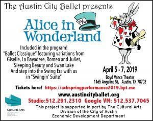 Alice in Wonderland, Ballet Classique and Swingin'...