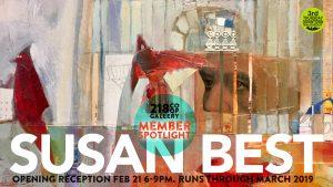 218 Co-op Gallery -- Member Spotlight: Susan Best
