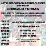 Latin Percussion Master Classes
