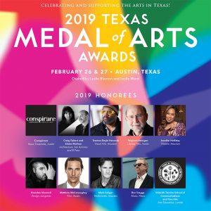 Texas Cultural Trust Features Susan Scafati Art Installation at Texas Medal of Arts Awards
