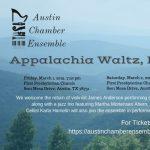 Austin Chamber Ensemble presents Appalachia Waltz, Bolling, and more