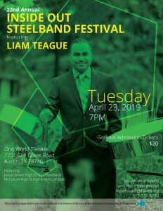 22nd Annual Inside Out Steelband Festival featurin...