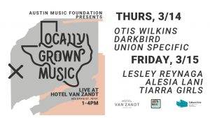 Locally Grown Music: Pop-Up Kick Off